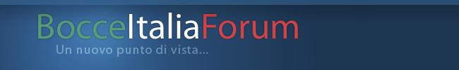 Bocce Italia Forum